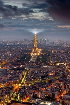 Paris -by Bertrand Monney