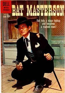 Gene Barry as Bat Masterson Old Comic Books, Vintage Comic Books, Vintage Tv, Great Tv Shows, Old Tv Shows, Classic Comics, Classic Tv, Mejores Series Tv, Western Comics