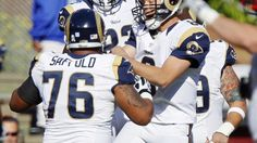 Click to see what the St. Louis Rams' Week 1 starters look like on offense and defense now that the NFL Draft is in the rear view mirror and the roster is all but set in stone.  Written by Anthony Blake