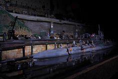 German U-Boat and railroad siding