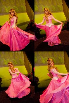 Princess Aurora-love the new character look they have for her at the Disney parks