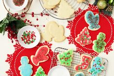 Kittencals Buttery Cut-Out Sugar Cookies W Icing That Hardens Recipe - Genius Kitchen