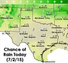Good Thursday Morning and welcome to the Texas Weather Roundup - a daily forecast that highlights upcoming hazardous weather and helps you plan your day. Please head to our website at http://texasstormchasers.com/?p=38629 for the graphics associated with today's forecast.   Some strong to severe thunderstorms will be possible this afternoon and this evening across the Texas Panhandle. An east/west oriented line of storms will likely fire up by late this afternoon. Stronger