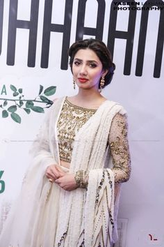 white dress collection ❤in. ✨**unique in white** board created by **Haya Maik** ✨ Pakistani Couture, Pakistani Girl, Pakistani Bridal, Pakistani Outfits, Indian Outfits, Pakistani Actress, Indian Bridal Fashion, Asian Fashion, Look Fashion