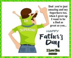 For a dad who is also a superhero. Free online You Are My Superhero ecards on Father's Day Fathers Day Ecards, Happy Fathers Day, Wishes For You, Day Wishes, You Are My Superhero, Showing Gratitude, Super Dad, Big Hugs, When I Grow Up