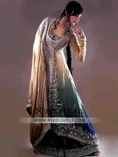 Nilofer Shahid Bridal Wear Sharara Dress For Bride Free Shipping Worldwide and huge Discount On All Bridal Sharara Clothes and Wedding Dress Online at Needlehole