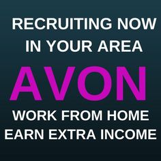 Avon National Recruiting Week – July 18-22, 2016 It's Avon's National Recruiting week – July 18-22, 2016- easy online sign up at: https://barbie.avonrepresentative.com/opportunity/start
