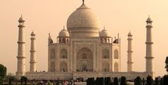 The Architecture of the Taj Mahal, Agra, India