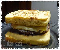 Recetas Dukan - Dukansusi: Pan esponjoso Dukan sin salvados Tofu Dukan, Pan Dukan, Dukan Diet, Diet Recipes, Healthy Recipes, Healthy Food, Blood Type Diet, Vegetarian Paleo, Sin Gluten