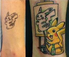 The best tattoo cover-up I've ever seen