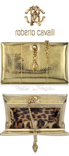 Regilla ⚜ Roberto Cavalli Prada Bag, Gold Fashion, Runway Fashion, Gold  Dress, 79f1623060