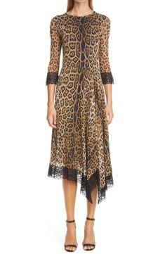 Leopard Outfits, Leopard Clothes, Casual Day Dresses, Women's Dresses, Animal Print Dresses, Dress Cuts, Mesh Dress, Nordstrom Dresses, Dress Making