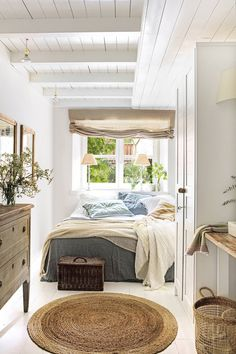 Bedroom Colors, Home Decor Bedroom, Bedroom Interiors, Design Tradicional, Greek Decor, Elle Decor, House Design, Interior Design, Furniture
