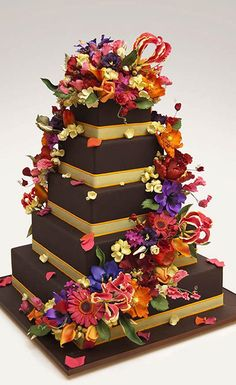Wedding cakes by Ron Ben-Israel New York City