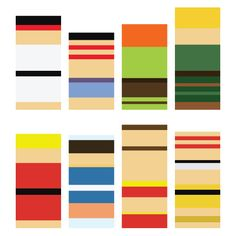 Streetfighter characters abstracted