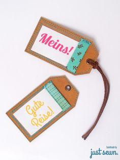 DIY SnapPap-Kofferanhänger mit Tutorial (Cool Crafts Diy)