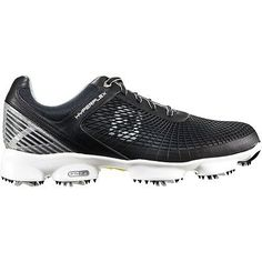 save off c8e8c d6980 FootJoy Men s Hyperflex Golf Shoes Black Silver Yellow 8 W