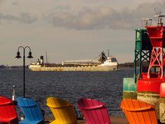 Larry Usher photo credit, Shipwatcher's on FB.  Clayton, NY