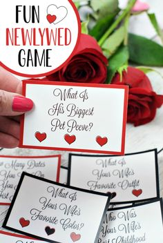 Maybe it's time to find out with this fun printable newlywed game! Such a fun addition to any party. Bridal Shower Question Game, Bridal Shower Questions, Bridal Shower Games, Bridal Shower Invitations, Bridal Showers, Fun Party Games, Bachelorette Party Games, Newlywed Game Questions, Fun Valentines Day Ideas