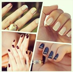 Bence koyu ;) Hangisi? Koyu renk #oje mi yoksa açık renk oje mi? #nailpolish #nail