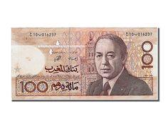 Billets Maroc (Banknotes Morocco), Maroc, 100 Dirhams, Hassan II, 1987