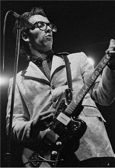 Rowland Scherman     Elvis Costello     Undated