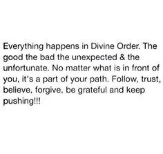 The divine order... #wisdom