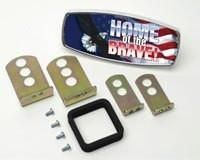 HitchMate Premier Series Hitch Cap Home of the Brave