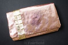 I usually always use Fairfield's interfacing to make my purses but decided to just use the thickness of Aluminor to save on time for this pattern. Feel free to add a layer of interfacing if you'd like to make yours even more stable!