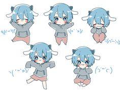 Cute Anime Chibi, Kawaii Chibi, Kawaii Anime, Cute Anime Character, Character Art, Character Design, Anime People, Anime Guys, Anime Images