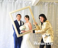 Married ... with Elvis! See all the photos from radio star Chang Hung's wedding day in Las Vegas