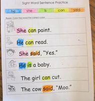 Kindergarten sight word practice pages. 5 weeks worth of packets! Kindergarten sight word practice pages. 5 weeks worth of packets! Sight Word Sentences, Teaching Sight Words, Sight Word Practice, Sight Word Activities, Learning Activities, Kids Learning, Word Games, Learning Tools, Activities For 5 Year Olds