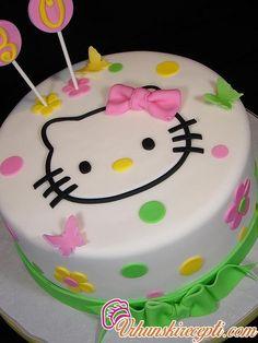 HELLO KITY CAKE - Vrhunski Recepti