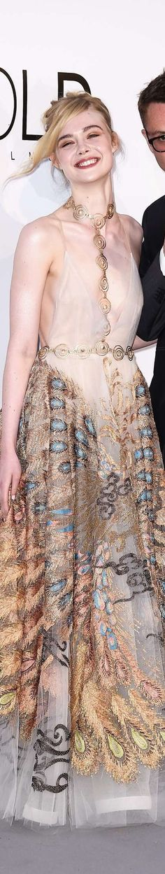 Elle Fanning in Valentino, The 69th Annual Cannes Film Festival