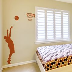 Basketball Player - Wall Decals Stickers Graphics