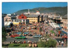 Hammerfest 1970-tallet H.A. Amundsens forlag.