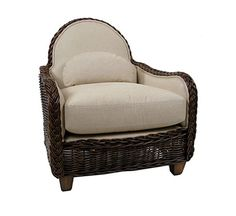 Hutton Round Back Lounge : Lounge Chairs : Style : Indoor Furniture : The Wicker Works