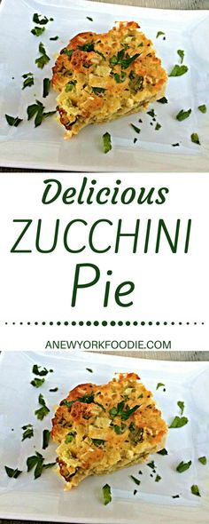 A delicious recipe for Zucchini Pie that is so easy to make. Impress your guests with this fantastic and healthy recipe!