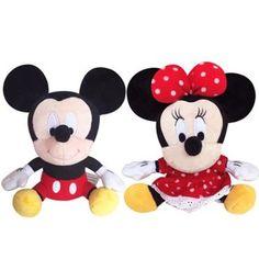 3b46d2b9551a Disney Original Lilo And Stitch Winnie The Pooh Mickey Mouse Minnie Plush  Toys Doll 17-