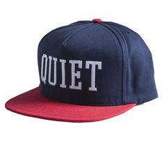 The Quiet Life - College Dart Snap Back Navy/Red