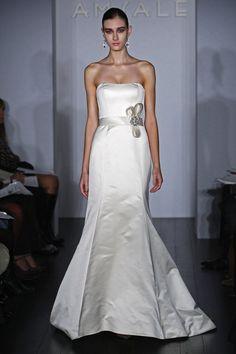 "Amsale ""Nicole"" Size: 8 Color: Ivory MSRP: $3,800 Sale Price: $990  www.ZitaBridal.com"