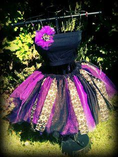 adult tutu adult tutu dress gothic tutu halloween by TutuHot, $75.00