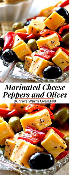 Finger Food Appetizers, Yummy Appetizers, Appetizers For Party, Christmas Appetizers, Cheese Appetizers, Appetizer Dinner, Marinated Cheese, Marinated Olives, Appetisers