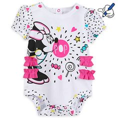 Minnie Mouse Pop Baby Body Suit