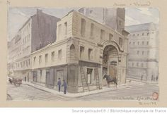 77 Rue Richelieu 5 fev. 1884 : [dessin] / A. L.M. Ottin - 1