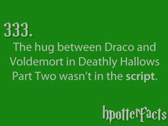 It was 1 out of some 100 takes they did, according to Tom Felton. He was completely surprised when he saw the final cut. Harry Potter Facts, Harry Potter Books, Harry Potter Love, Harry Potter Universal, Harry Potter Fandom, Harry Potter World, Hp Facts, Mischief Managed, So Little Time