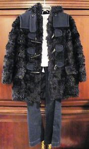 Womens-NEW-Marc-by-Marc-Jacobs-Mohair-Blue-Faux-Fur-Jacket-Coat-Size-2