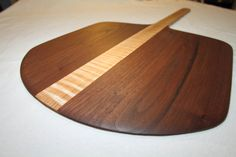 ACRES AWAY WOODWORKS: FUNKTIONAL ART FOR THE KITCHEN. HEIRLOOM GIFTS AND KITCHEN TREASURES.    This paddle is made from American Black Walnut