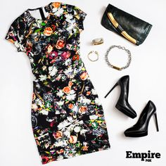 #OOTD as worn by Cookie Lyon (Taraji P. Henson) on s1 ep10 of Empire. Floral notes on fleek.