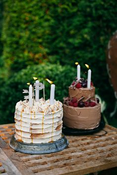 an ode to cakes by Call me cupcake, via Flickr